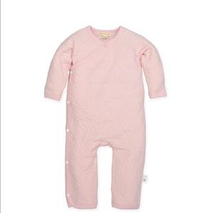 Burts Bees preemie coverall